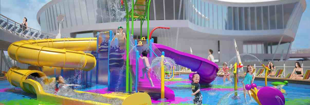 Harmony of the Seas debut's new Aquatic Adventure Park for Kids