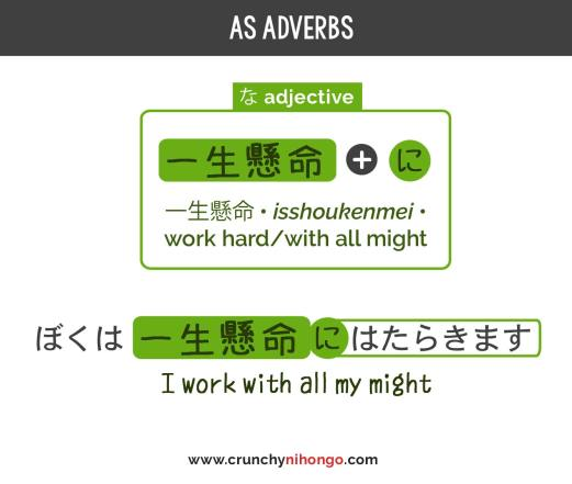 japanese-I-adjective-as-adverb