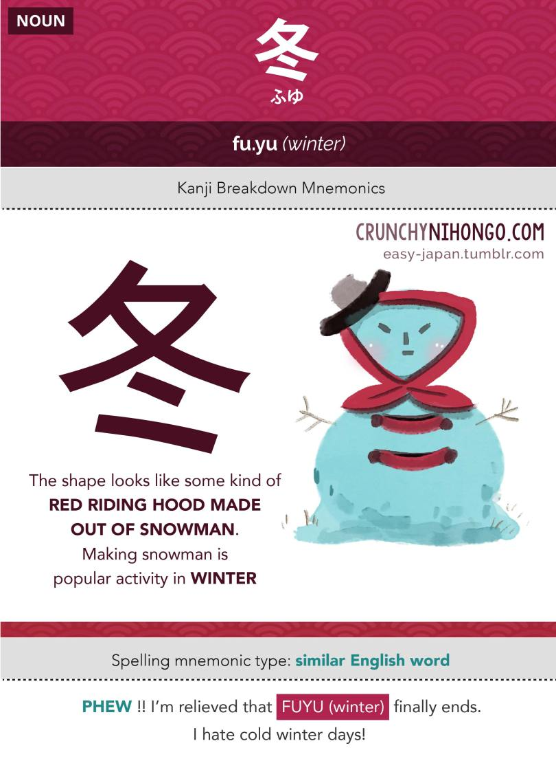 n5-vocabulary-fuyu-winter