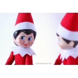 Small Crop Of Girl Elf On The Shelf