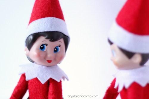 Medium Of Girl Elf On The Shelf