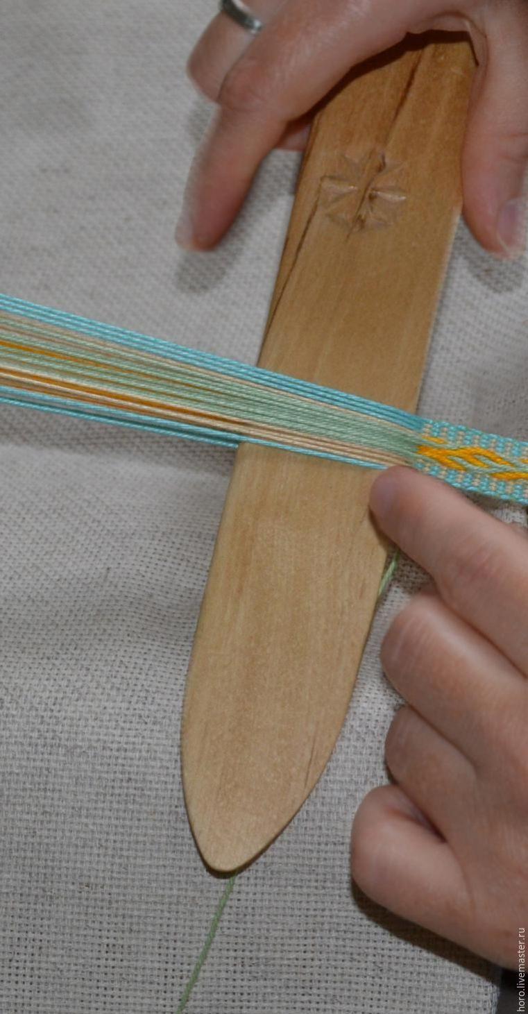 пояса тканые на бердышке