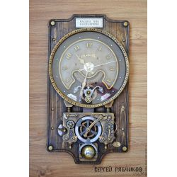Small Crop Of Steampunk Wall Clock