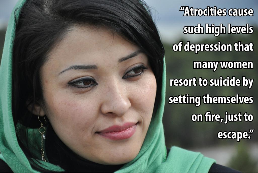 Zainab Mohammadi, Senior reporter for Pajhwok Afghan News in Kabul, Afghanistan