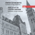 New on the shelf: Canadian Election Analysis 2015