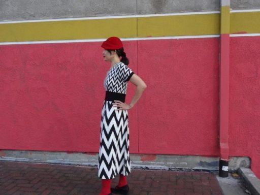 Red Velvet Dress - csews.com