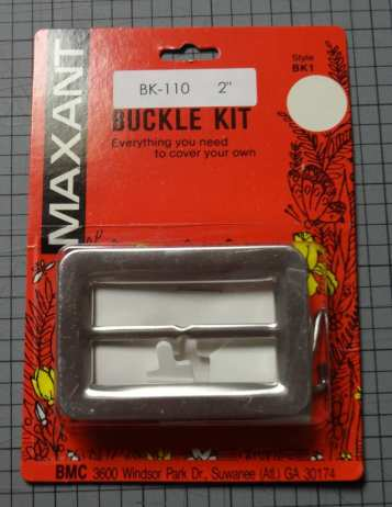 Kit for fabric-covered buckle kit - csews.com