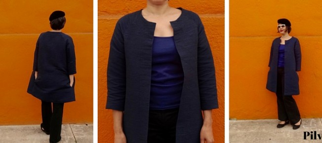 Pilvi Coat - Lotta Jansdotter Everyday Style - C Sews