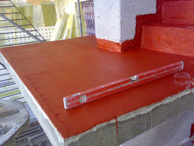 Pilares y escaleras