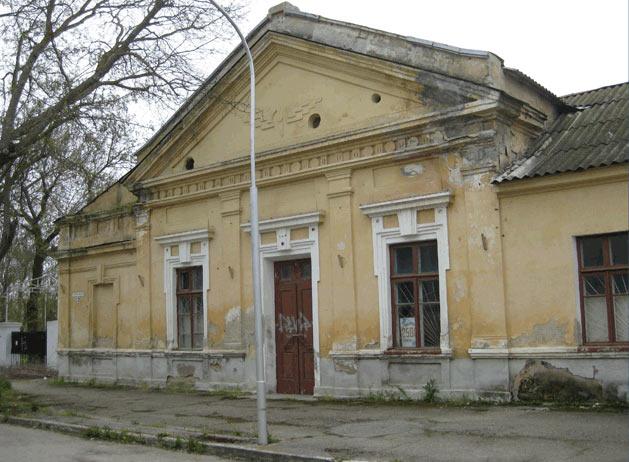 Бывшее здание лютеранской церкви в Евпатории