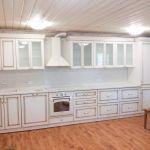 Кухня береза (эмаль,патина золото)_65