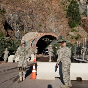 Fort Carson, Cheyenne Mountain Air Force Station test joint response during exercise