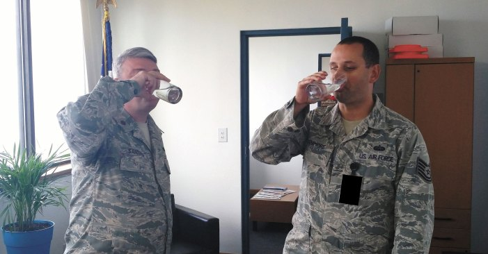 """""""The Sun Never Sets"""": Det. 3 quenches its thirst"""