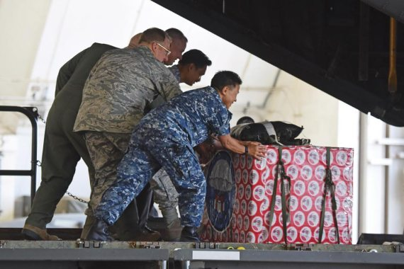 Operation Christmas Drop begins at Guam