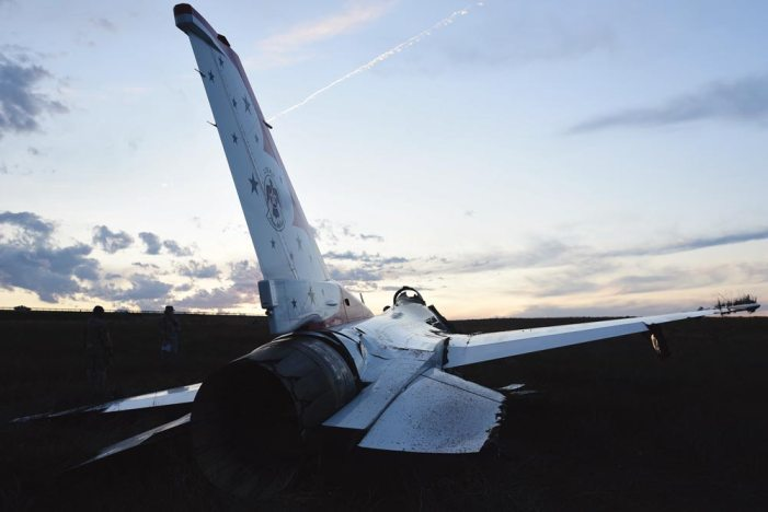 F-16CM Thunderbird accident investigation released