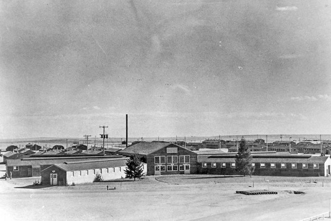 PETERSON AIR FORCE BASE, Colo. – Building 880 housed the 6th Photographic Squadron when it was newly completed in 1942.