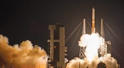 WGS-9 satellite launches from Florida