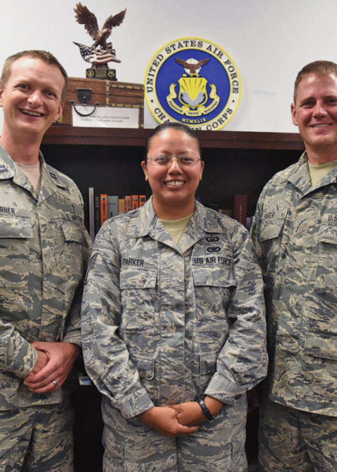 Chaplain's Office cares for Team Schriever