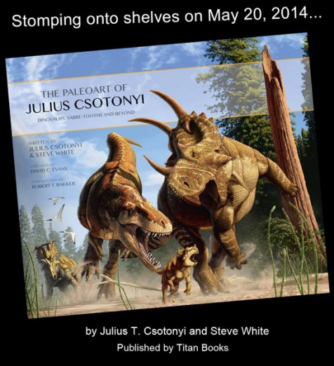 Cover - The Paleoart of Julius Csotonyi