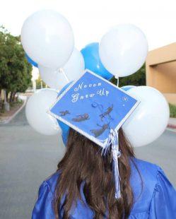Mutable Decorate Your Cap This Graduation Decorate Your Cap This Graduation Cougar Chronicle Blue Graduation Cap Cutouts Blue Graduation Cap Ideas