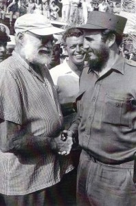 Ernest Hemingway and Fidel Castro, Fishing Contest, Before Bay of Pigs - -IMG by Bruce Tute, Via Creative Commons.