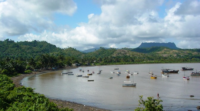 Baracoa, Cuba:  Bay and Fishing Boats