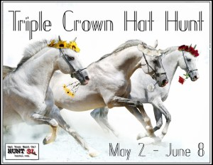 Triple Crown Hat Hunt Poster