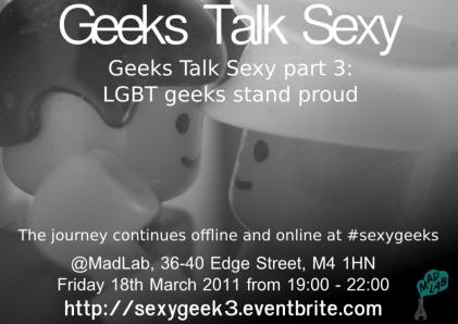 Geeks Talks Sexy part 3