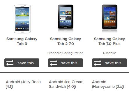 Galaxy Tabs