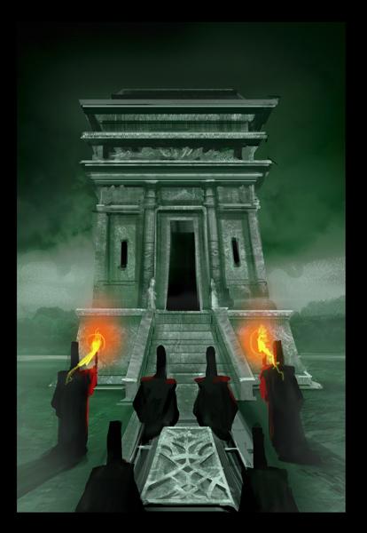 Probablemente, la ilustración de la carta cementerio