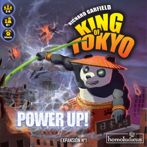 Portada de King of Tokyo - Power Up