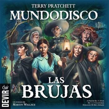Portada de Mundodisco: Las Brujas