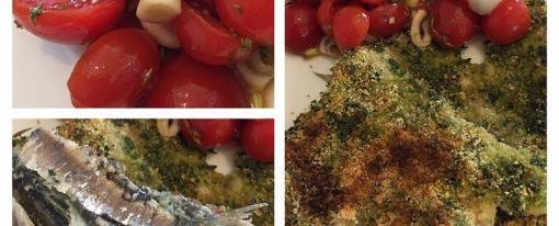 Sardine sottocoperta al forno