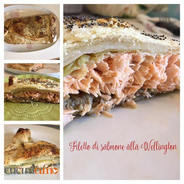 Filetto di salmone alla Wellington - fotoricetta
