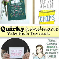 Etsy Finds | Quirky Valentine's Day Cards