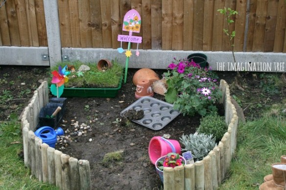 outdoor activities for kids: play garden