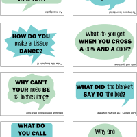 FREE Lunch Box Jokes Printable