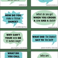 FREE Lunch Box Jokes Printable