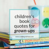 Children's Book Quotes for Grown-Ups