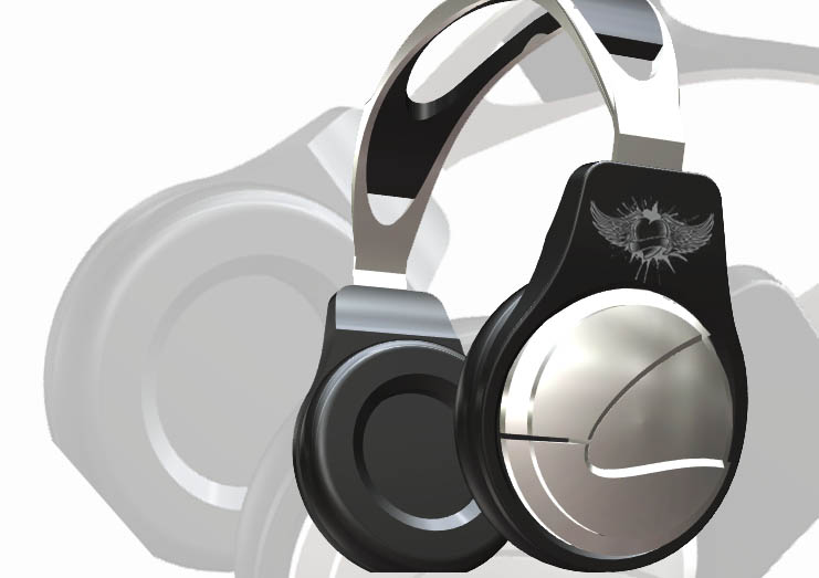 HEADPHONE_3D(STL)