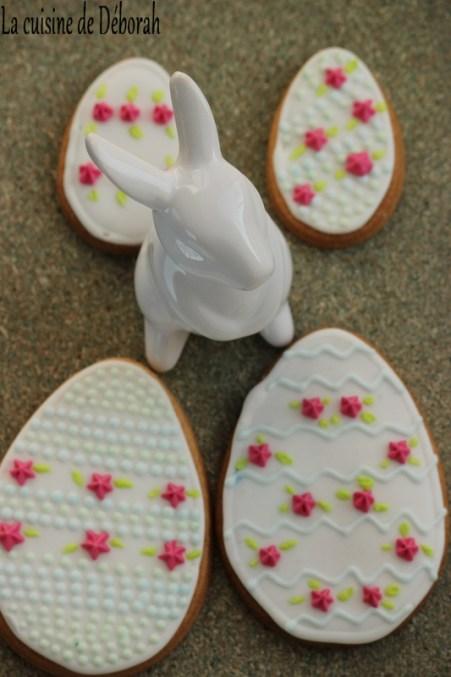 Biscuits de Pâques décorés - Cuisine de Déborah