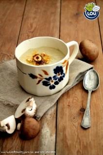 VELOUTE DE BELLA ROSES CURCUMA ET NOISETTES - Cuisine de tous les jours pour Lou Légumes