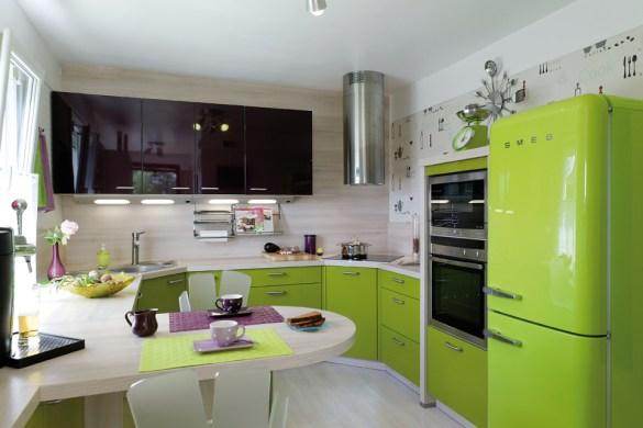 Cuisine Tunisienne Meuble Vert ~ Idées de Design Maison et Idées de ...
