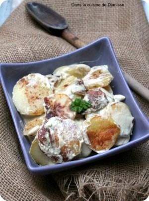 Pommes de terre à la Dijonnaise