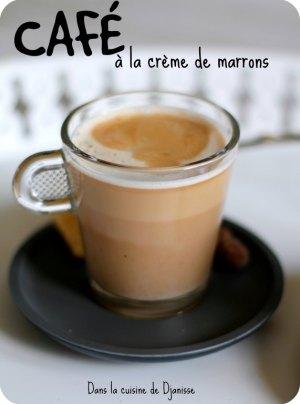 Recette végétalienne : café à la crème de marrons