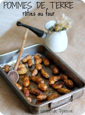 Pommes de terres rôties au four