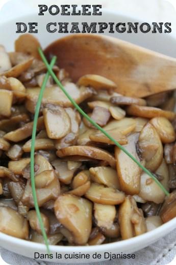 poêlée de champignons
