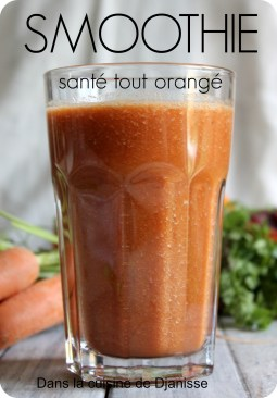 smoothie carottes oranges