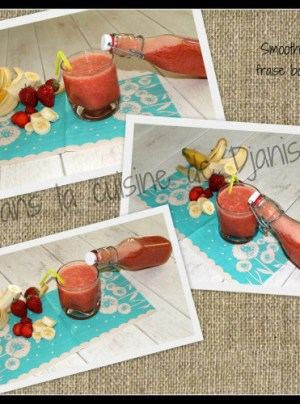 smoothie fraises bananes