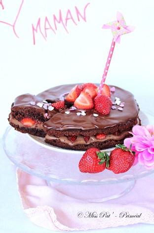 Gâteau fêtes des mères